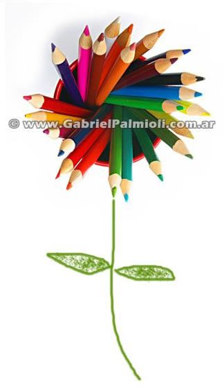 FLOR DE LAPIZ por Gabriel Palmioli GPF