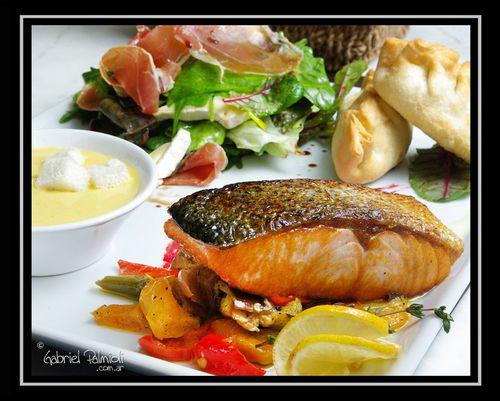 Foto Salmon para Hotel
